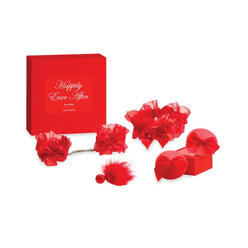 Photo de coffret séduction nuit de noce rouge ever after