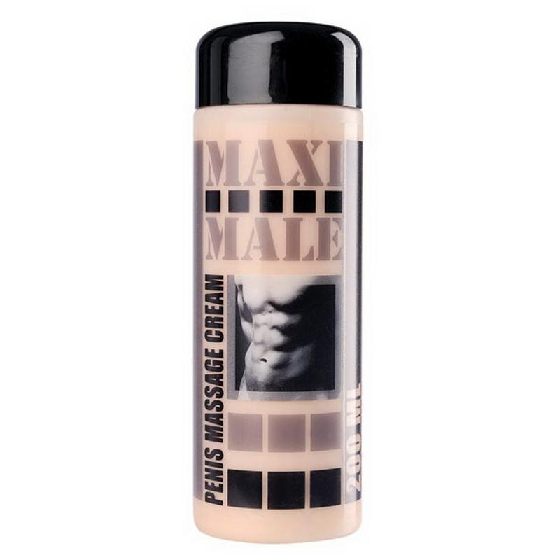 Photo de creme developpante penis maxi male 200ml