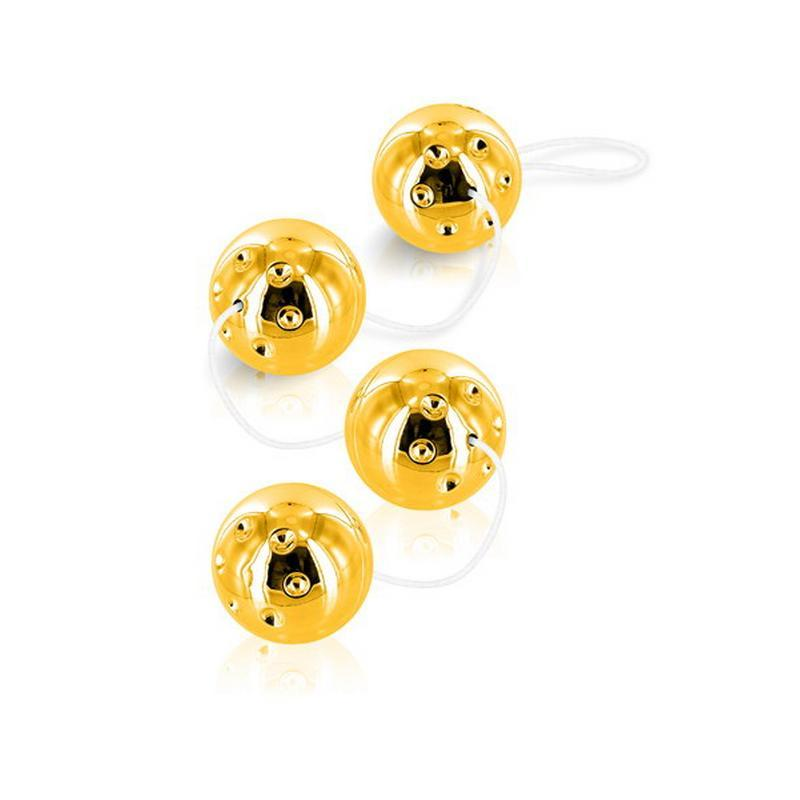 Photo de boules de geisha duo balls geisha gold
