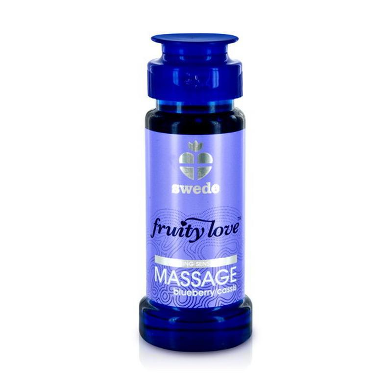 Photo de fruity love huile de massage myrtilles/cassis 50ml