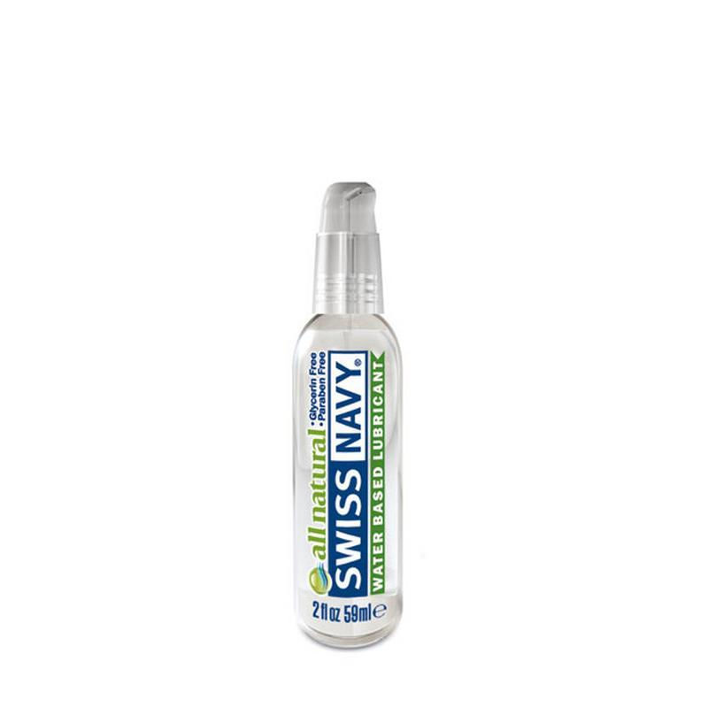 Photo de lubrifiant all natural 59ml