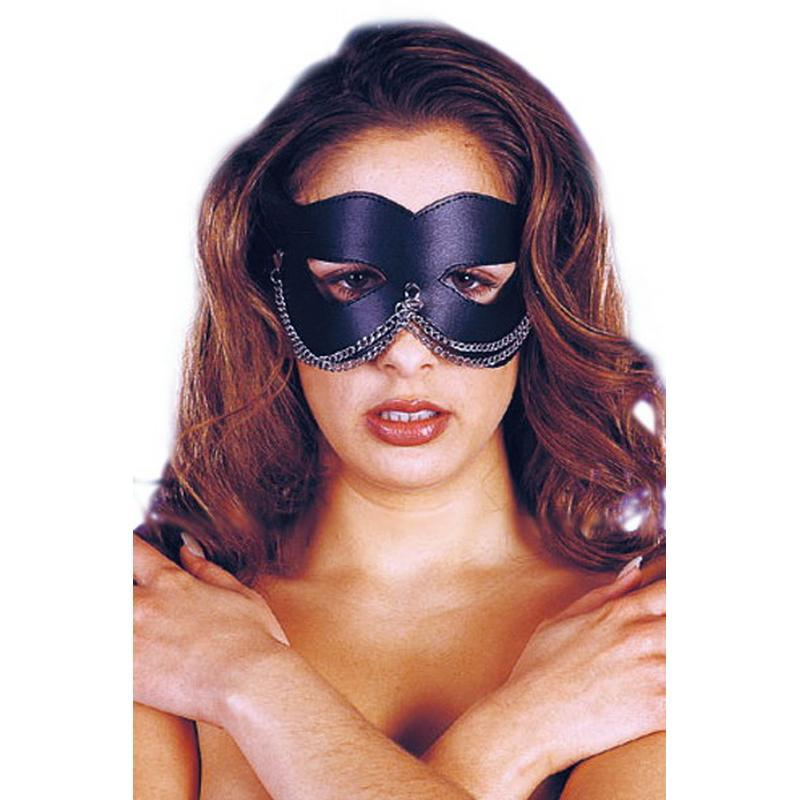 Photo de masque cuir chainette