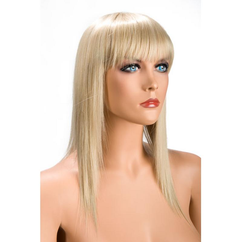 Photo de perruque blonde cheveux long allison