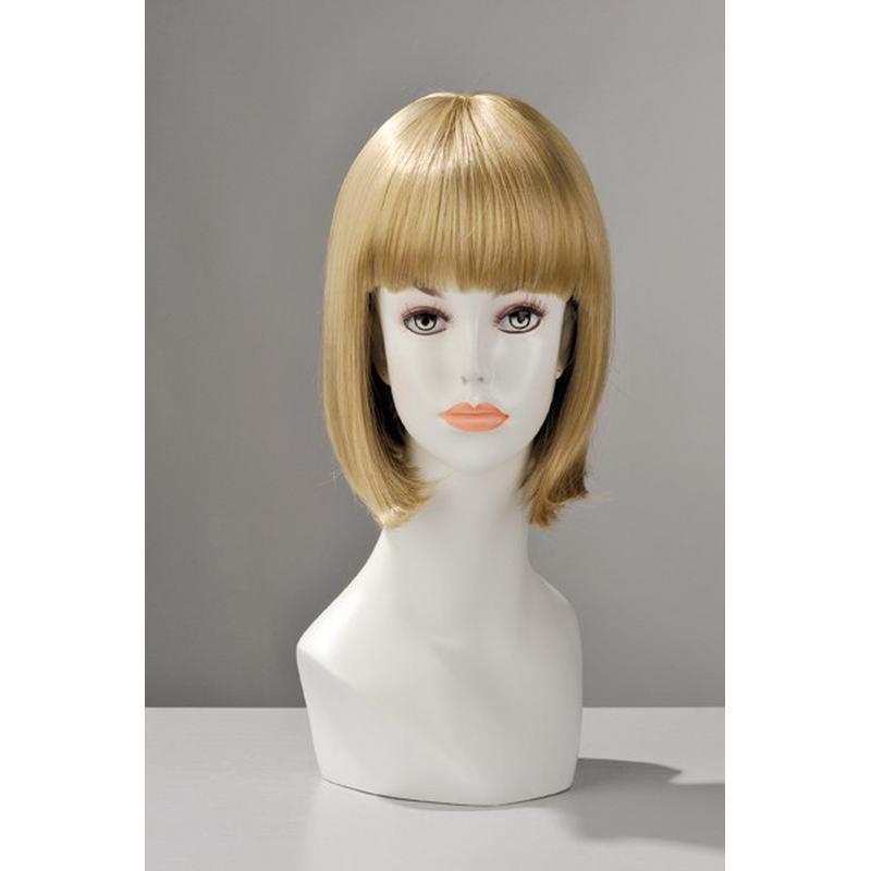 Photo de perruque china doll blond
