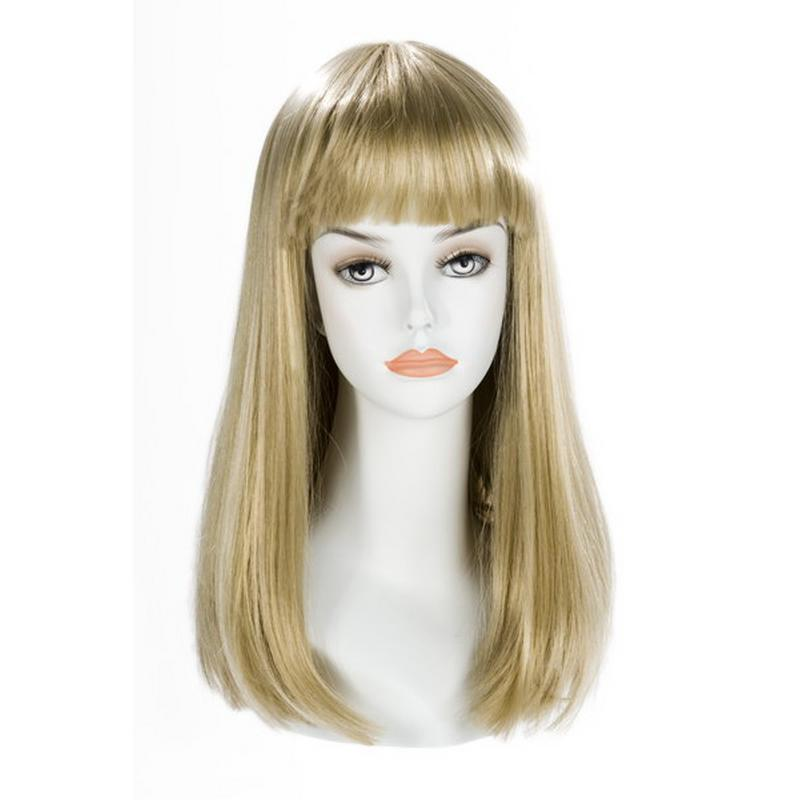 Photo de perruque china doll longue blond