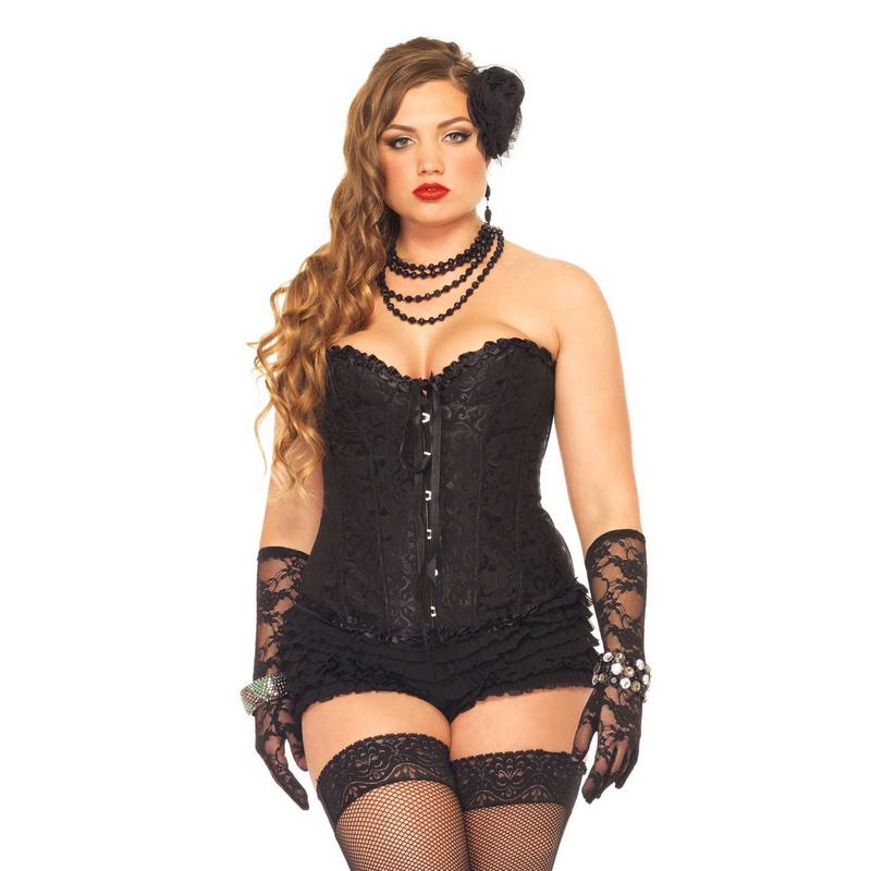 Photo de corset sasha grande taille