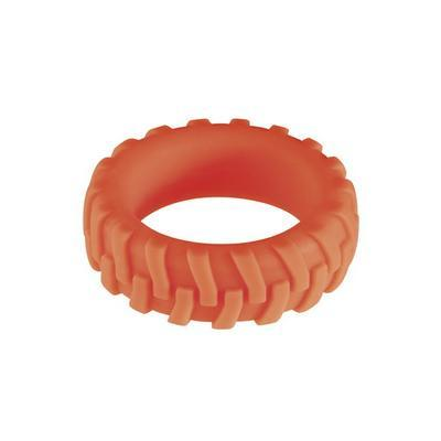 my ring silicone red m dans Cockring et bague pénis