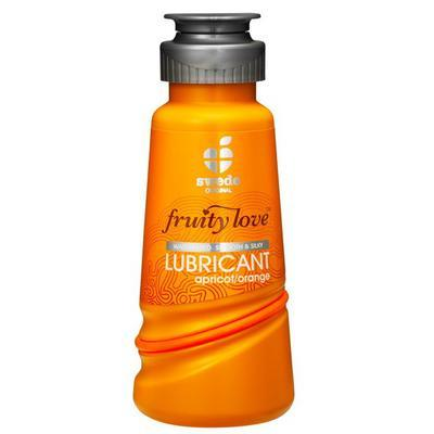 lubrifiant fruity love abricot orange 100ml dans Lubrifiant comestible