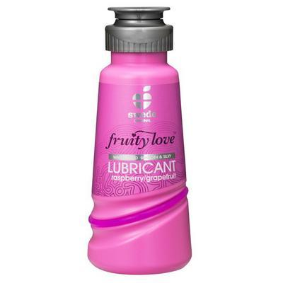lubrifiant fruity love framboise pamplemouse 100ml