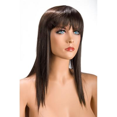 perruque chatain cheveux long allison