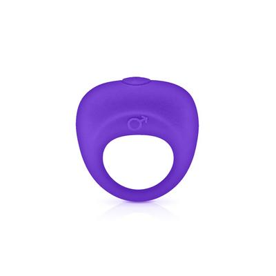 cockring vibrant vibrating cockring purple dans Cockring et bague pénis